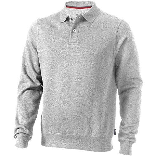 Slazenger Herren Polo-Sweater (2XL, Grau Meliert)