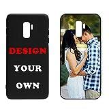 Naispanda Coque pour Samsung S9 Plus,Coque Personnalisée avec Votre Photo Coque TPU pour Samsung S9...