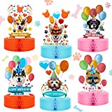 6 Pieces Dog Themed Party Decorations Dog...