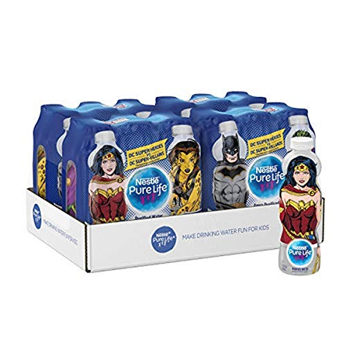 Nestle Pure Life Justice League Collection, Purified Bottled Water, 11.15 fl oz. (24 Pack)