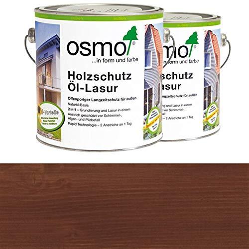 OSMO Holzschutz Öl-Lasur 2,5 Liter Palisander 727