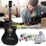 HUVE Guitar Practice Tool Gitarren-Lehrmittel Gitarren-Lernsystem Gitarrenakkordgerät Einsteigerpaket Für E-Gitarren