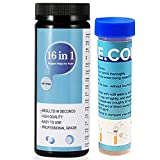 100 Strips-17 in 1 Drinking Water Test kit,Pool Water Quality Test,High Sensitivity Test