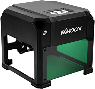 ROEAMデスクトップレーザー彫刻機, DIYコンパクト自動ロゴマークプリンタ彫刻機,USBケーブルとアダプタに付き