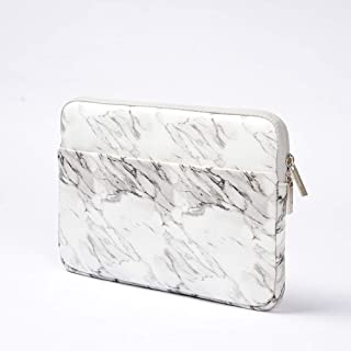 """9.7-10.5 Inch Tablet Sleeve Case Marble Pattern Protective Bag Cover for 9.7"""" Galaxy Tab S3, Tab A 10.1, Tab 4, 10.5"""" Galaxy Tab S5e / RCA Viking Pro 10.1/10.1"""" Dragon Touch X10, D10 (9.7-10.5 inch)"""