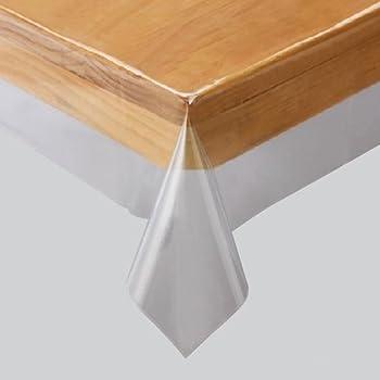川島織物セルコン 透明ビニルクロス テーブルクロス 130×160cm JJ1029