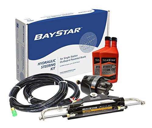Baystar Hydraulisches Steuersystem Teleflex Fuer Außenborder Bootssteuerung bis 110kw 150PS Bootslenkung