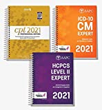 AMA CPT Book, ICD-10 Code Book, HCPCS Book - 2021 Physician Bundle by AAPC