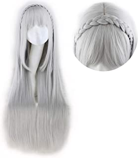 emilia re zero wig