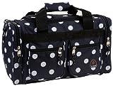 Rockland Duffel Bag, Black Dot, 19-Inch