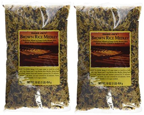 Trader Joe#039s Brown Rice Medley 16 oz Pack of 2