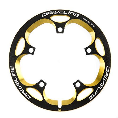 Driveline ドライブライン スーパーガード G2モデル 48T 黒金 ブラックゴールド Black/Gold 自転車用 バッシュガード チェーンリングガード BCD130mm 【正規輸入品】