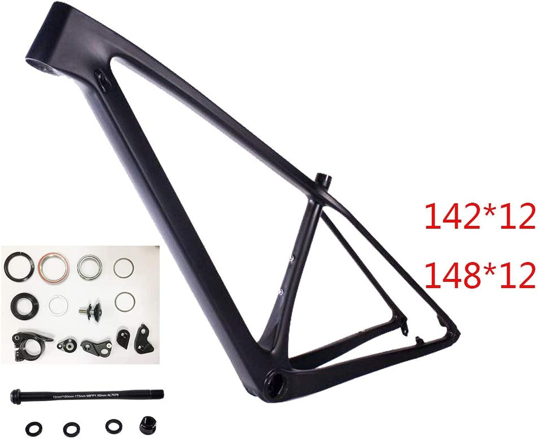 16 To17インチ(165 to 180 cm) - カーボンマウンテンバイクフレームT1000 UD中国格安カーボンバイクフレームMTBカーボンフレーム