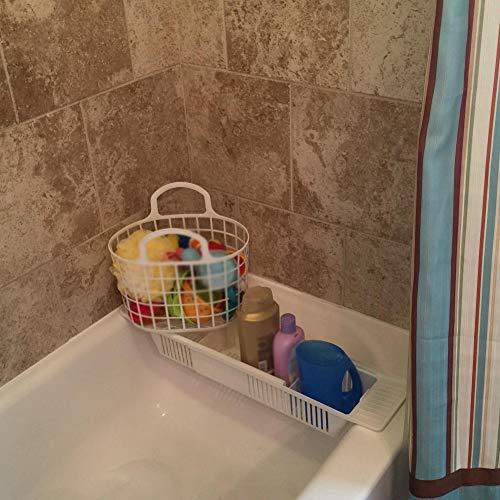 PER Einstellbare Bad Spielzeug Rack Organizer Korb Dusche Caddy Halter für Badewanne Badezimmer Baby Baden Spielzeug Lagerung