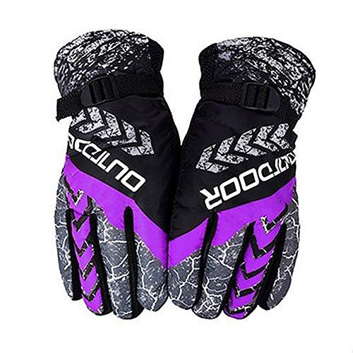 voloki Winter warme Handschuhe Winddichtes Kälte Plus-Samtverdickung Handschuhe Outdoor Sports Ski-Handschuhe Best Service