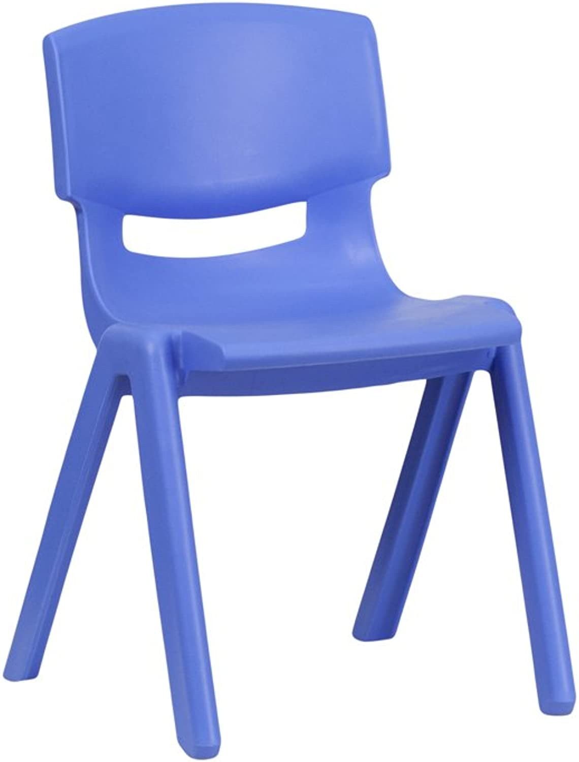 Sammy bluee Plastic Stackable School Chair 13.25'' Seat Height
