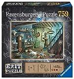 Ravensburger- Gruselkeller 759 Teile Puzzle-Premium Qualität für Exit-begeisterte ab 12 ...
