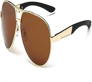 FRGTHYJ - FRGTHYJ piloto Polarizado Hombres Hombres Gafas de Sol Hombres Conducción Gafas de Sol Hombre piloto Gafas de Sol para Hombres Marca Moda Retro Recubrimiento D