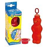 Pustefix Zauberbär Rot I 180 ml Seifenblasenwasser I Bubbles Made in Germany I Seifenblasen...