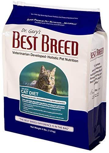 of catit cat foods dec 2021 theres one clear winner Best Breed Cat Diet Made in USA [Natural Dry Cat Food for All Ages] - 4lbs.
