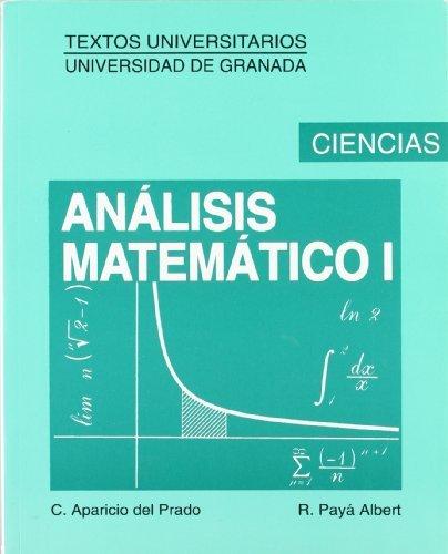 Analisis Matematico I 7b: Edicion (Spanish Edition) by C. Aparicio del Prado(2000-04)