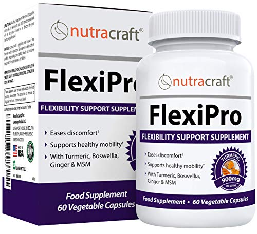 FlexiPro #1 Natural Pain Relief Supplement | 11-in-1 Anti Inflammatory,...