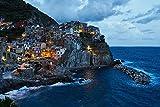 Mediterranean Coast Landscape,Puzzles for Adults,Wooden Jigsaw Puzzles,Puzzle Toys for Adults Kids -500_Tablets
