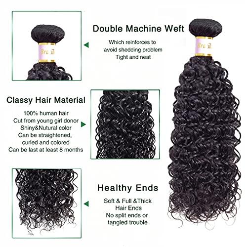 Cheap brazilian curly hair bundles _image4