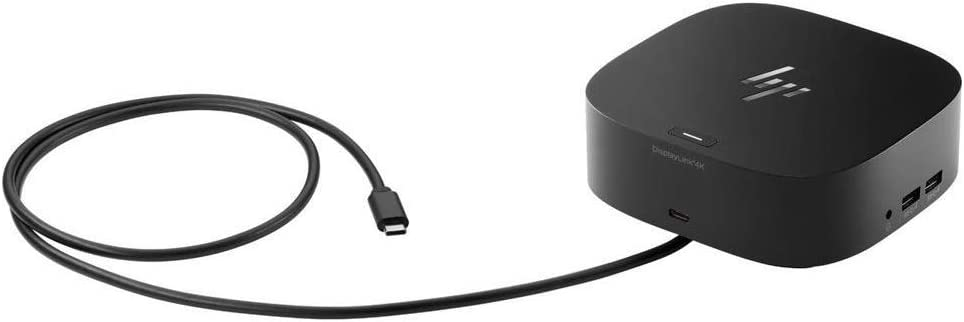 HP Docking Station - for Notebook - 100 W - USB Type C - 6 x USB Ports - 4 x USB 3.0 - Network (RJ-45) - HDMI - DisplayPort - Wired
