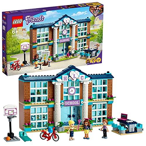 LEGO 41682 Friends Instituto de Heartlake City, Escuela de Juguete para Construir con Mini Muñecas para Niñas y Niños +6 Años