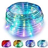WOWDSGN Luces de Cobre Multicolores USB, 10M 100LED Luces de Cadena de Hadas 8 Modos Luces de Cadena...