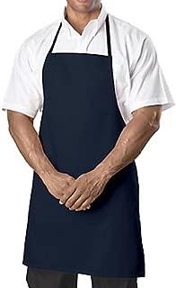Bib Aprons-Navy Blue-12 Pc (1 Dz) Pack-new Spun Poly-commercial Restaurant Kitchen