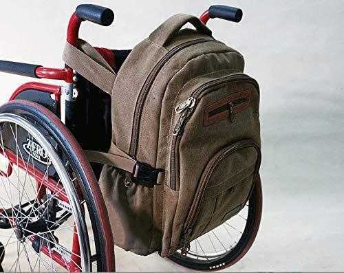 GHZZY rolstoeltas - opbergtas Walker - tas voor rolstoelaccessoires voor het opbergen van persoonlijke accessoires en essentiële artikelen