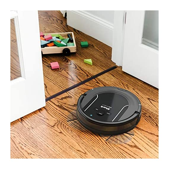 SHARK ION Robot Vacuum R85 WiFi-Connected with Powerful Suction, XL Dust Bin, Self-Cleaning Brushroll and Voice Control… 10 Shark has built upon a high performing Robot vacuum to deliver powerful suction, XL capacity, and advanced sensor technology for an incredible solution to everyday cleaning Designed for pet hair; Provides powerful floor and carpet cleaning with an xl dust bin and 3X more suction in max mode than the shark ion Robot R75 Download the shark clean app to receive continuous updates, create a cleaning schedule, or start your Robot from anywhere; Voice control available with Alexa or Google assistant