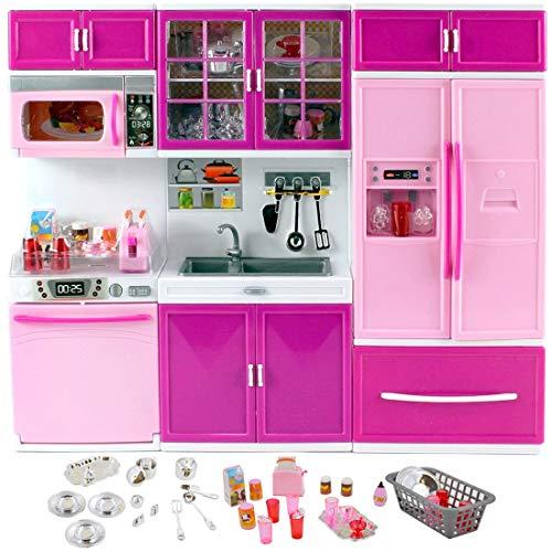Amazon.es: deAO Muebles de Cocina 3en1 Muñecas a la Moda ...
