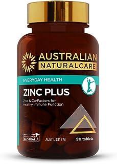 Australian NaturalCare - Everyday Health - Zinc Plus Tablets (90 Count)