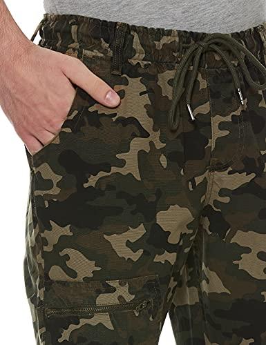 Diverse Men's Printed Slim Fit Joggers