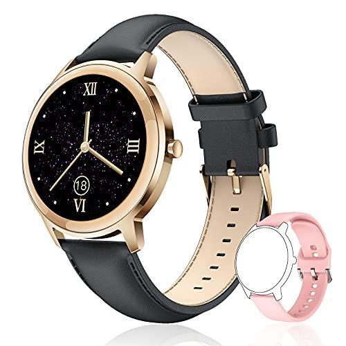 Smartwatch Donna - Orologio Fitness con Contapassi Cardiofrequenzimetro Cronometro 21 Modalità Sportive Impermeabile IP67 Smart Watch Activity Tracker - Orologio Smartwatch Donna per Android e Iphone