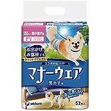 【ケース販売】マナーウェア 男の子用 超小型犬用 SSSサイズ 青チェック・紺チェック 52枚×8コ
