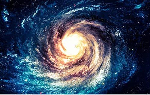 Fototapete 3d Effekt Sternenhimmel Universum Weltraum Wirbel Schwarzes Loch Fototapete schlafzimmer Tapete Vliestapeten Wohnzimmer Wandbilder Wallpaper Wanddeko 150x105cm