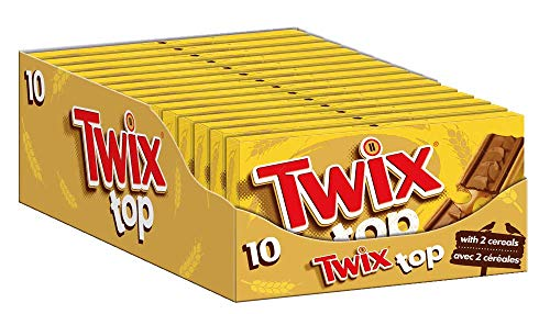 Twix Top | Biscuit, Keks | Jeweils 10 Riegel in 14 Packungen (14 x 10 x 21 g)