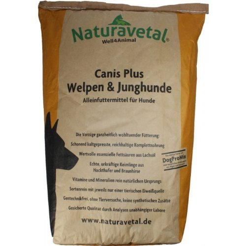 Naturavetal Canis Plus Welpen 15kg