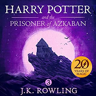Harry Potter and the Prisoner of Azkaban, Book 3 audiobook cover art