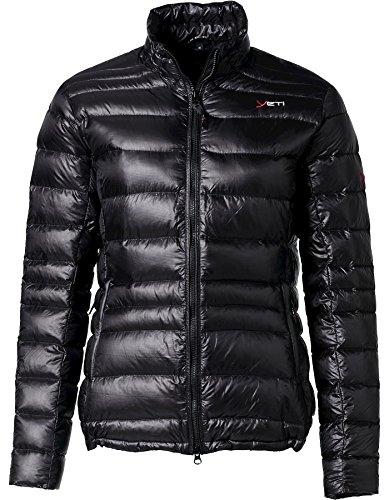 YETI Desire W's Lightweight Down Jacket Damen Daunenjacke Jacke, Black, Größe S