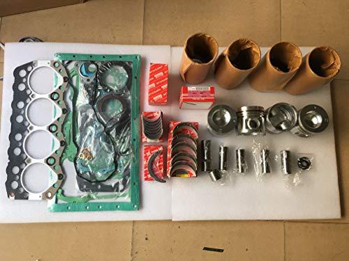 3044 C Engine Remanié kit 3044 + Bague de piston Liner Joint Roulement pour Loader