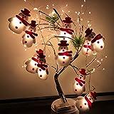 Christmas String Light, LED Snowman Xmas Tree Lights, Holiday Party Lantern Ornament, Christmas Trees Decoration Light String (Snowman-A(1.5m)/no Remote)