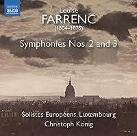 Farrenc: Symphonies Nos 2 & 3