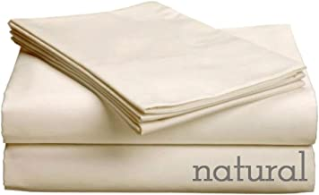 CozyFit Certified Organic 100% Cotton Super Low Profile Luxury Sheet Set for 6