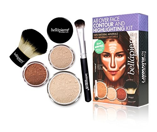 bellapierre COSMETICS Contouring and Highlighting Kit Clair