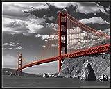 empireposter San Francisco Golden Gate Bridge Colorlight